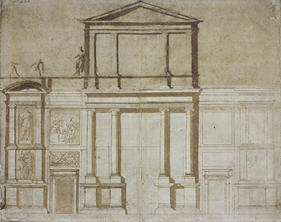 Project for the Facade of San Lorenzo in Florence Michelangelo